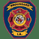 Broussard Fire Department Logo